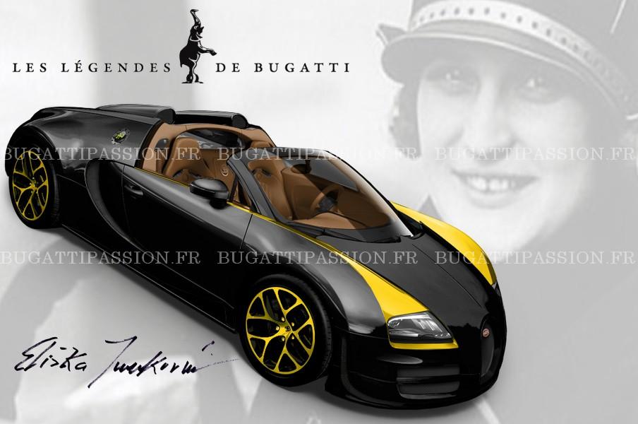 Bugatti Veyron Legend Elizabeth Junek