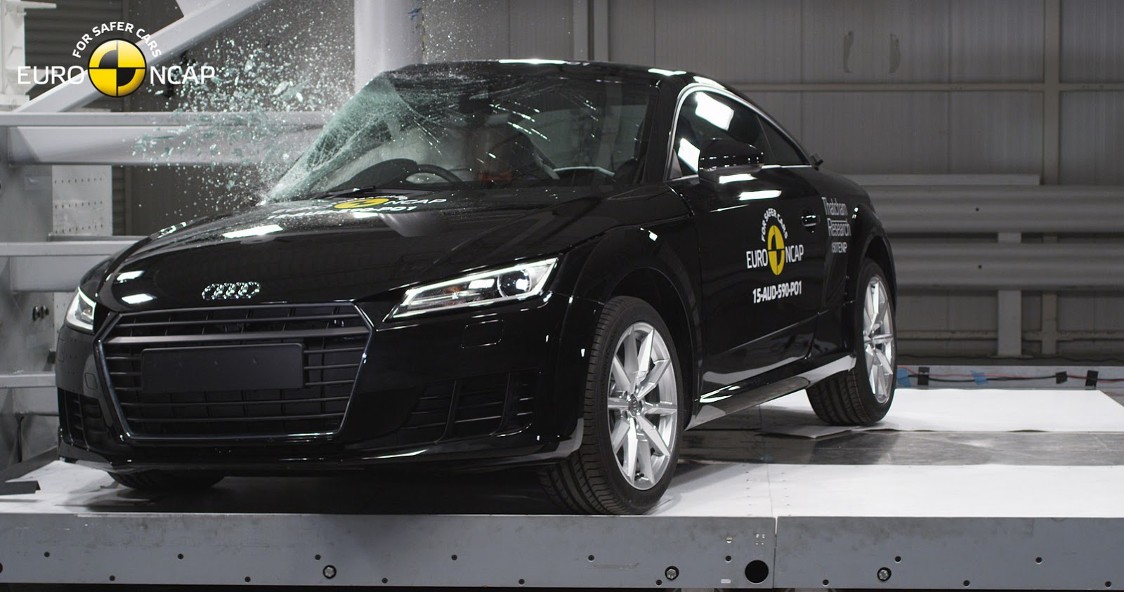 Audi TT EuroNCAP