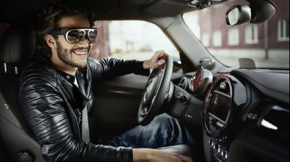 OKULIARE OD MINI VÁM UMOŽNIA VIDIEŤ CEZ KAROSÉRIU, ČI NÁJSŤ AUTO