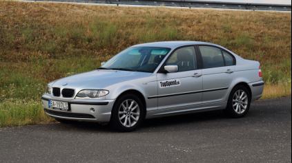 TEST JAZDENKY BMW RAD 3 E46 (1998 - 2005)