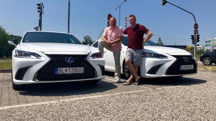 TEST Lexus ES 300h s Marcelom Forgáčom