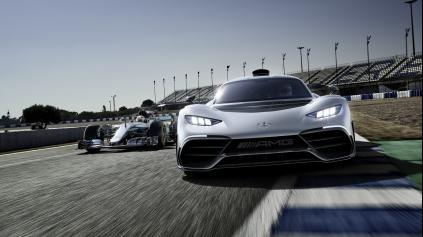 Mercedes ukázal kráľa hypercarov AMG Project One