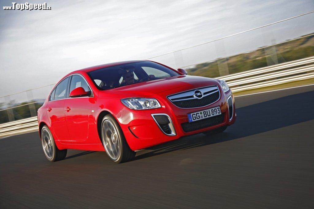 Opel Insignia OPC je novou šťukou v rybníku tohto nemeckého výrobcu