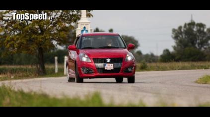 Test Suzuki Swift Sport II
