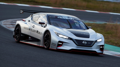 Nissan Leaf Nismo RC je elektrický pretekár