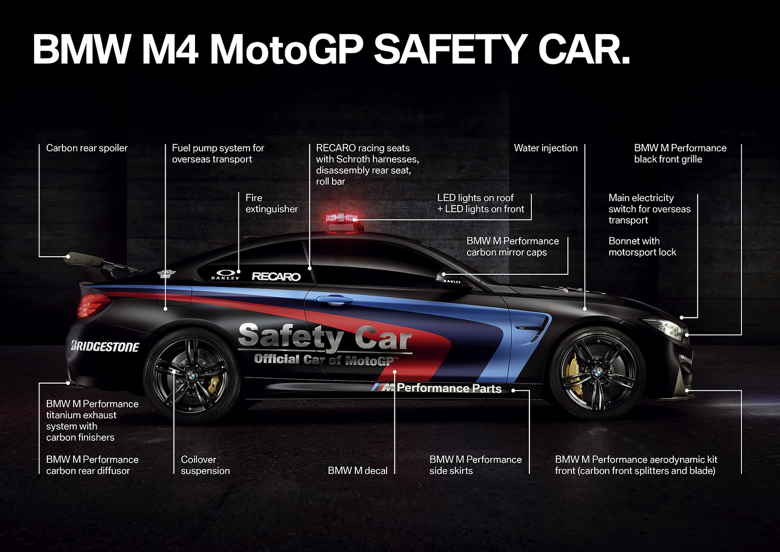 2015 BMW M4 MotoGP safety car