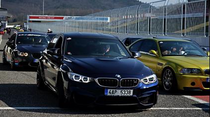 30. MARCA JE V MOSTE NAJVÄČŠÍ ČESKO-SLOVENSKÝ BMW M ZRAZ
