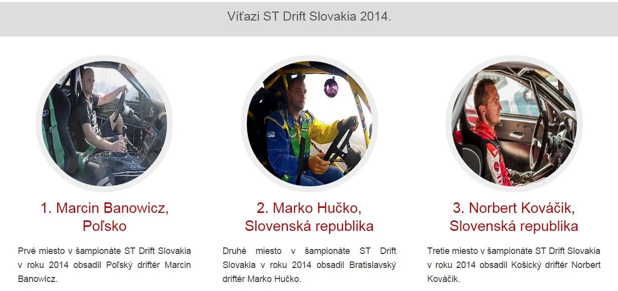 vitazi serie ST Drift 2014