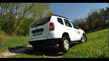 Test jazdenky Dacia Duster
