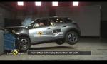 Aj DS 3 Crossback Euro NCAP testy zvládol na rôzne hodnotenia