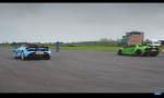 Bitka top roadsterov - šprint Lamborghini Aventador S a McLaren 720S
