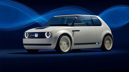Retro elektromobil Honda Urban EV má vzhľad Golfu I. Vyzerá skvelo!