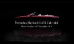 Mercedes-Maybach odhalí luxusný kabriolet S650