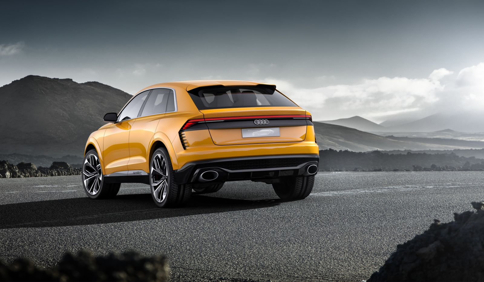 Audi Q8 sport concept 48 V mild-hybrid