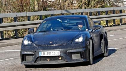 Ďalší športiak s atmo motorom? Porsche 718 GT4