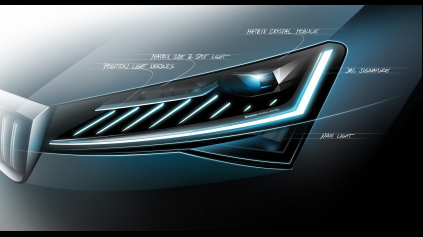 Modernizovaná Škoda Superb matrix full-LED svetlá získa ako prvá