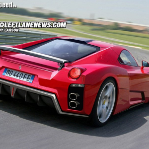 <p>Nové Ferrari Enzo II</p>