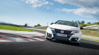 Civic Type-R vracia úder. Má naj časy na 5 top okruhoch Európy