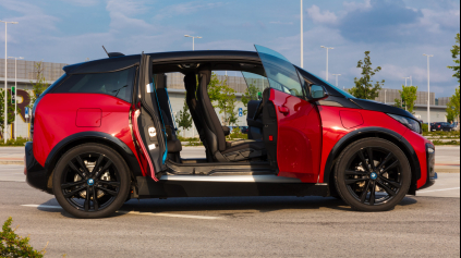 TEST BMW I3S REX