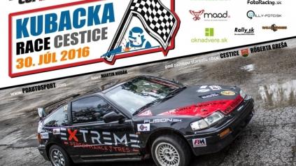 KUBACKA RACE CESTICE JE ĎALŠOU ZASTÁVKOU MTE CUPU 2016