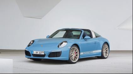 Porsche Exclusive pripravilo retro model 911 Targa 4S