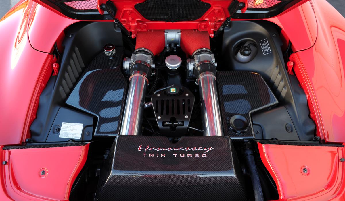 Hennessey Twin-Turbo Ferrari 458 Spider