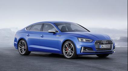 2. gen. Audi A5 Sportback je atletickejšia a bude jazdiť aj na plyn