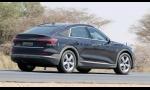 Audi e-tron Sportback už testujú takmer bez kamufláže