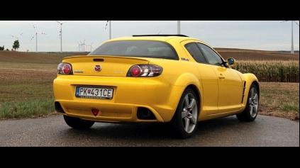 Test jazdenky Mazda RX 8