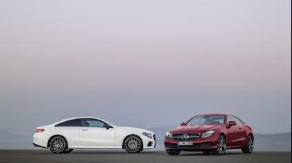 Mercedes triedy E Coupe zatiaľ len s jedným naftovým motorom