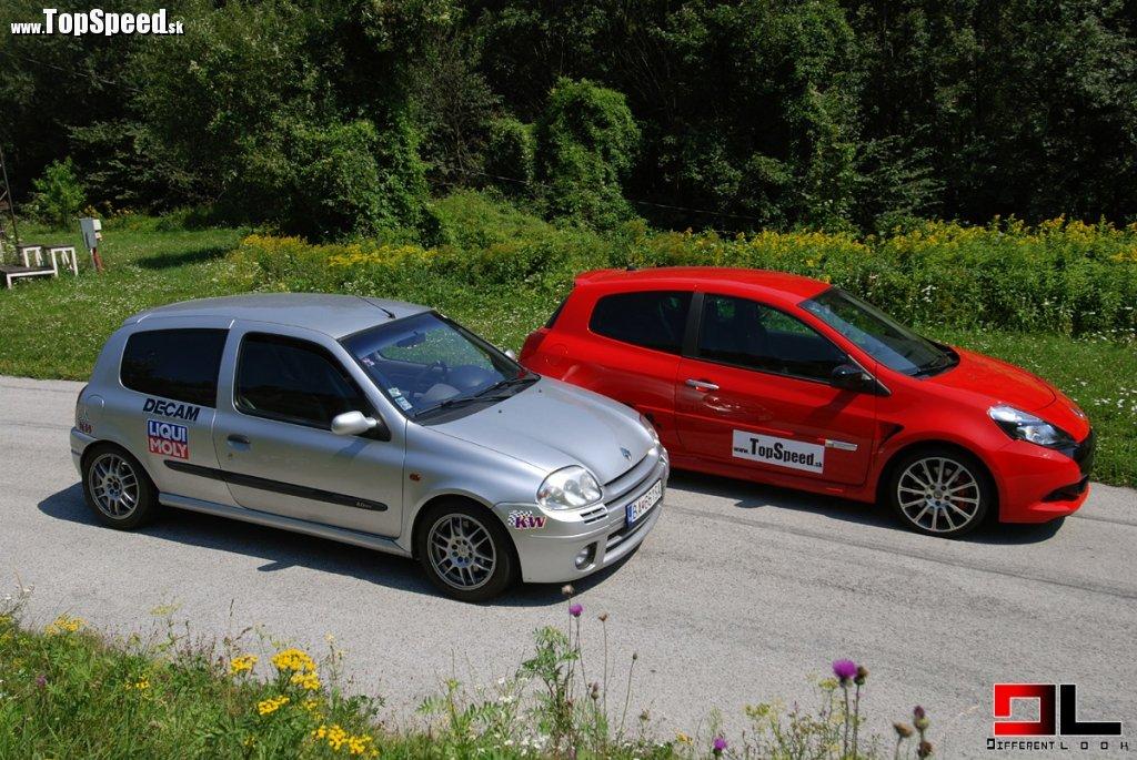Stret generácií. Prvé Clio Sport 172 a aktuálny kúsok