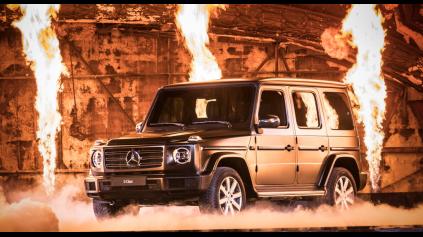 Nový Mercedes G je oficiálne tu. Tvarmi ctí predchodcu