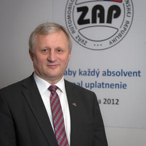 prezident ZAP SR Jaroslav Holecek