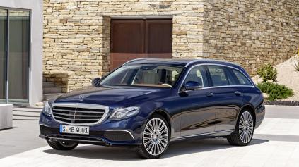 Nový Mercedes E kombi má stále veľký kufor