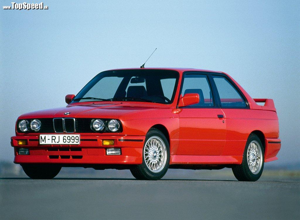 Prvá generácia - BMW E30 M3