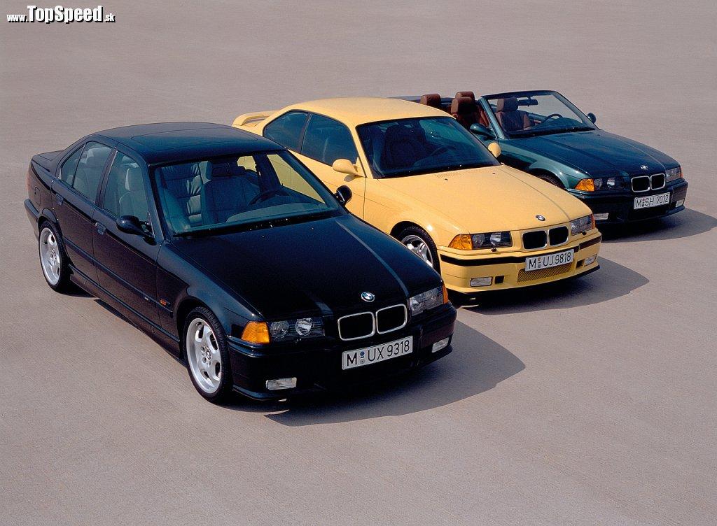 Druhá generácia - BMW E36 M3