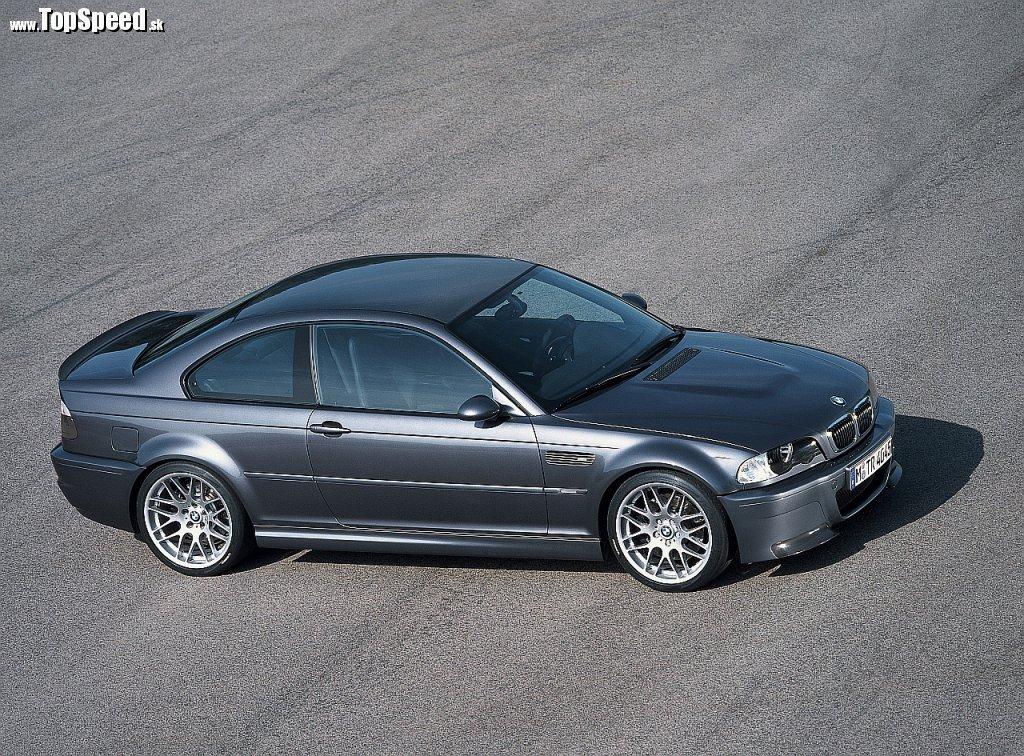Tretia generácia - BMW E46 M3 (na obrázku model CSL)