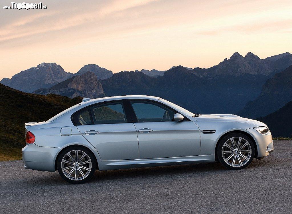 Štvrtá generácia - BMW E90-E93 M3