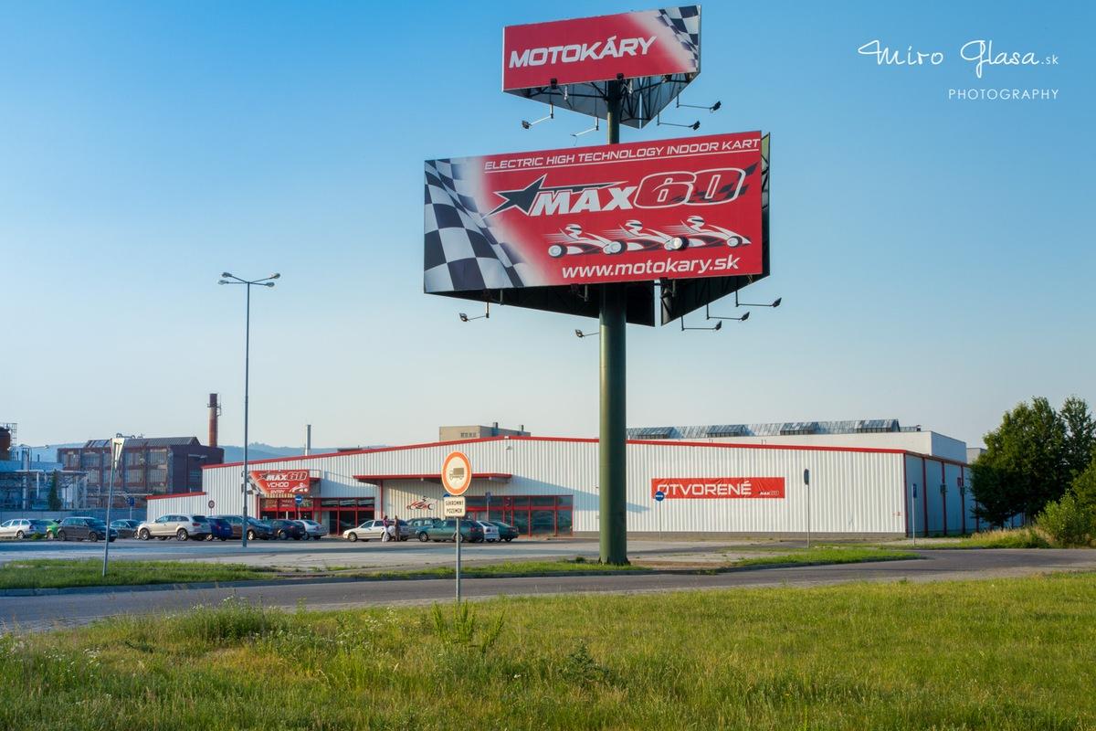 KartCup a hala MAX60