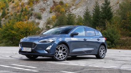 Jazda nový Ford Focus je bez benzínových 4-valcov