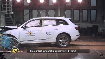 Aj modernizované Audi Q7 Euro NCAP zvládlo na 5 hviezdičiek