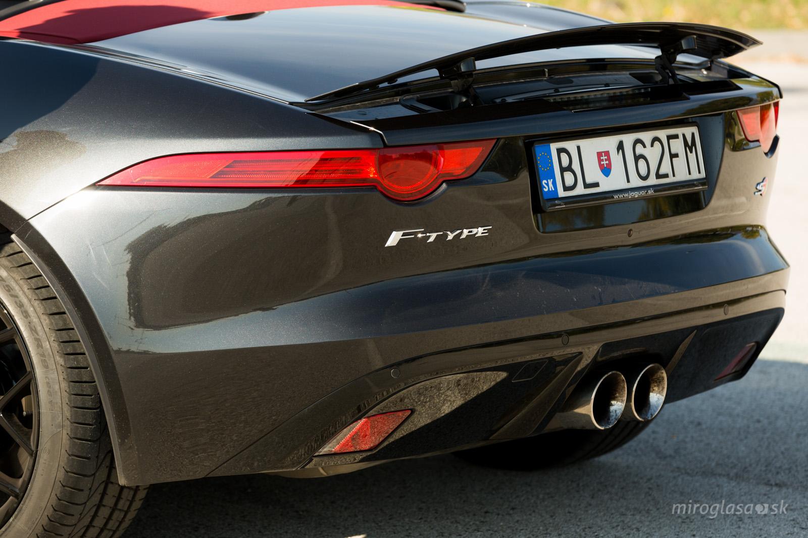 TopSpeed.sk test Jaguar F type S