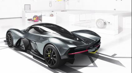 Aston Martin AM-RB 001 dostane 6,5l atmosféru so šialeným výkonom