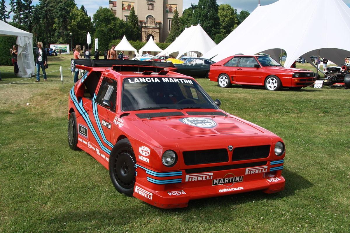 Lancia Delta ECV Group S