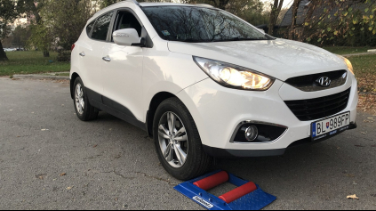 Hyundai ix35 4x4 test