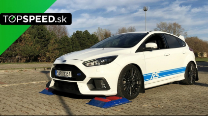 FORD FOCUS RS 4X4 TEST