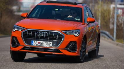 Test Audi Q3 45 TFSI: Malá vrtká