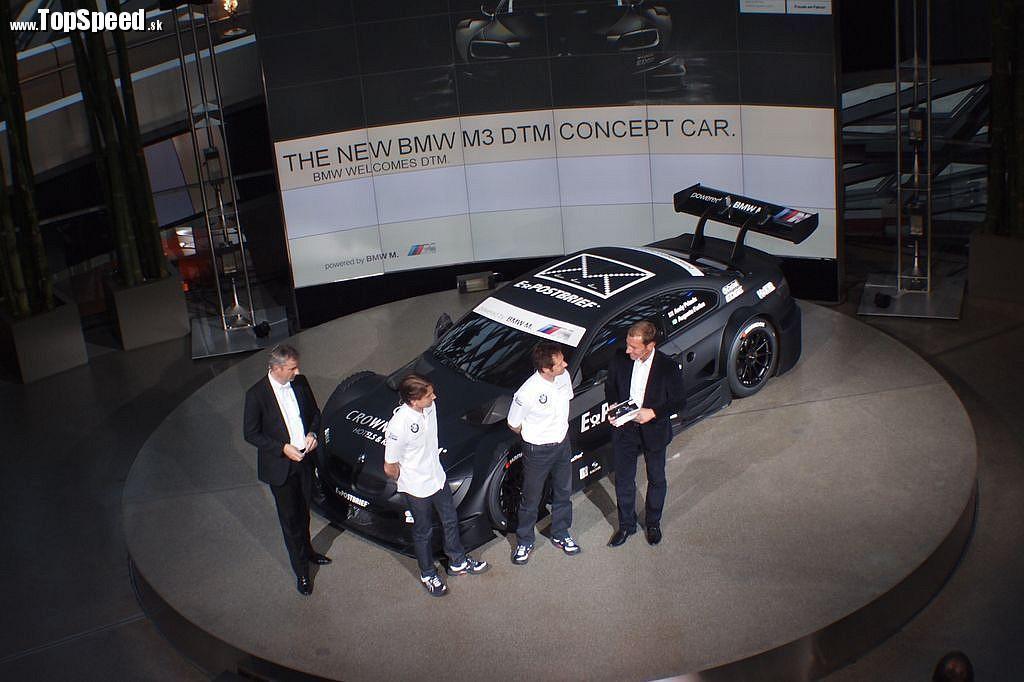 Predstavenie BMW M3 DTM Concept car