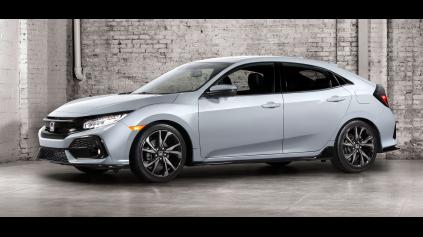 Nová 5 dverová Honda Civic príde najprv do USA