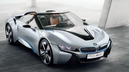 BMW i8 Roadster príde v roku 2018